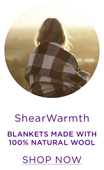 ShearWarmth - Traditional, quality blankets made with 100% natural New Zealand wool