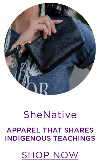SheNative - Leather handbags and apparel that share Indigenous teachings