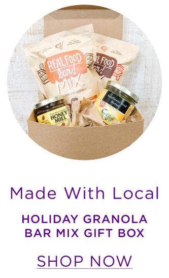 Made With Local Holiday Granola Bar Mix Gift Box