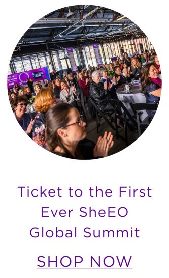 Ticket to the SheEO Global Summit